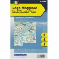 Kummerly En Frey Outdoorkaart 08 Lago Maggiore 1:50.000
