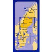 Kummerly En Frey Wegenkaart 1 Zweden Zuid Zuid