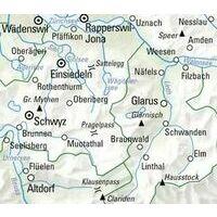 Kummerly En Frey Fietskaart 12 Schwyz Glarus