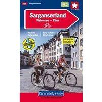 Kummerly En Frey Fietskaart 13 Sarganserland