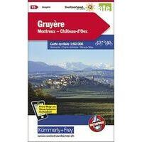 Kummerly En Frey Fietskaart 15 Gruyère