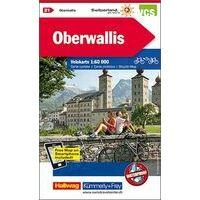 Kummerly En Frey Fietskaart 21 Oberwallis
