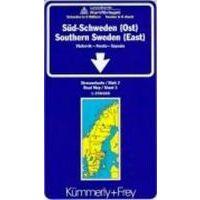 Kummerly En Frey Wegenkaart 3 Zweden Zuidoost
