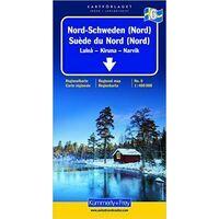Kummerly En Frey Wegenkaart 6 Zweden Noord Noord