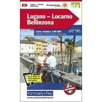 Kummerly & Frey Fietskaart 18 Lugano - Lucarno