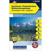 Kummerly En Frey Outdoorkarte 03 Garmisch-Partenkirchen