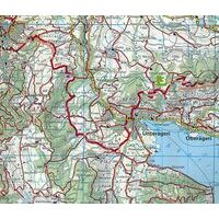 Kummerly En Frey Wandelkaart 19 Gotthard