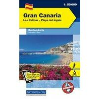 Kummerly En Frey Outdoorkarte Gran Canaria 1:50.000