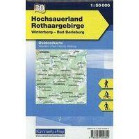 Kummerly En Frey Outdoorkarte 30 Hochsauerland