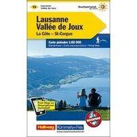 Kummerly En Frey Wandelkaart 15 Lausanne