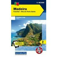 Kummerly En Frey Outdoorkaart Madeira 1:40.000
