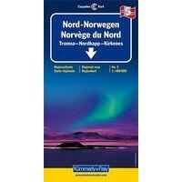 Kummerly En Frey Wegenkaart 5 Noorwegen Noord