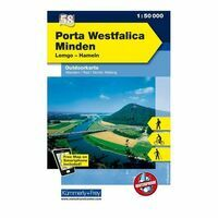 Kummerly En Frey Outdoorkaart 58 Porta Westfalica - Minden