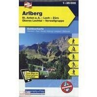 Kummerly En Frey Outdoorkarte 03 Arlberg