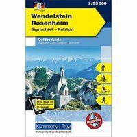 Kummerly En Frey Outdoorkarte 06 Wendelstein - Rosenheim