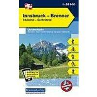 Kummerly En Frey Outdoorkarte 07 Innsbruck Brenner