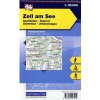 Kummerly En Frey Outdoorkarte 11 Zell Am See