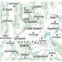 Kummerly En Frey Outdoorkarte 16 Bad Gastein 1:35.000