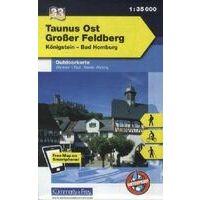 Kummerly En Frey Outdoorkarte 33 Taunus Ost 1:35.000