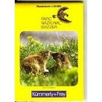 Kummerly En Frey Wandelkaart Nationaal Park Zwitserland