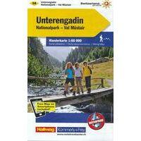 Kummerly En Frey Wandelkaart 14 Unterengadin - Val Müstair