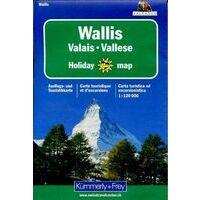 Kummerly En Frey Wallis Toeristische Kaart