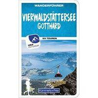Kummerly & Frey Wandelgids Vierwaldstättersee - Vierwoudstedenmeer