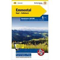 Kummerly & Frey Wandelkaart 10 Emmental