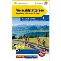 Kummerly & Frey Wandelkaart 11 Vierwaldstättersee