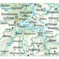 Kummerly En Frey Wandelkaart 11 Vierwaldstättersee