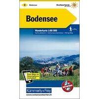 Kummerly En Frey Wandelkaart 2 Bodenmeer