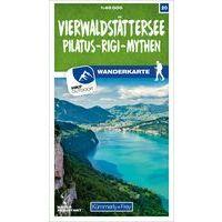 Kummerly & Frey Wandelkaart 20 Vierwaldstättersee - Pilatus