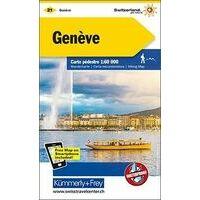 Kummerly En Frey Wandelkaart 21 Genève