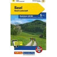 Kummerly En Frey Wandelkaart 4 Basel - Aargau