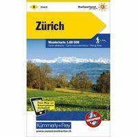 Kummerly En Frey Wandelkaart 6 Zürich