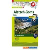 Kummerly En Frey Wandelkaart 6 Brig Aletsch Goms