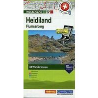 Kummerly En Frey Wandelkaart 3 Heidiland