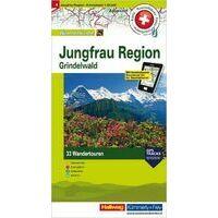 Kummerly En Frey Wandelkaart 4 Jungfrau Region