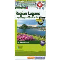 Kummerly En Frey Wandelkaart 8 Lugano Regio