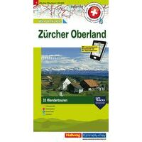 Kummerly En Frey Wandelkaart 1 Zürcher Oberland