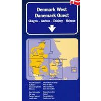 Kummerly En Frey Wegenkaart Denemarken West