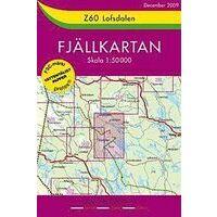 Lantmäteriet Fjallkarta Wandelkaart Z60 Lofsdalen 1:50.000