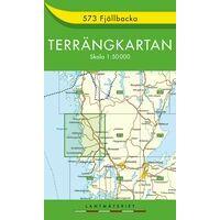 Terrangkartan Wandelkaart 573 Fjällbacka 1:50.000