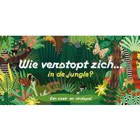 Laurence King Publishing Wie Verstopt Zich In De Jungle? Een Zoek- En Vindspel