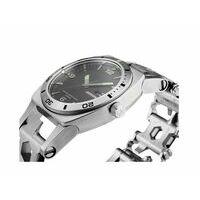 Leatherman Tread Tempo Stainless RVS Horloge En Multitool Ineen