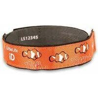 LittleLife Armband Safety ID Clownvis SOS Naambandje