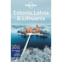 Lonely Planet Estonia, Latvia & Lithuania - Reisgids Baltische Staten
