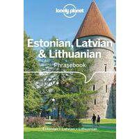 Lonely Planet Phrasebook Estonian, Latvian & Lithuanian Taalgids