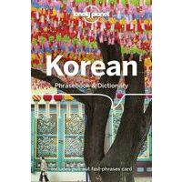 Lonely Planet Taalgids Korean Phrasebook & Dictionary