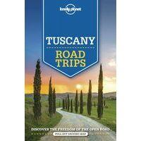 Lonely Planet Tuscany Roadtrips - Autoreisgids Toscane